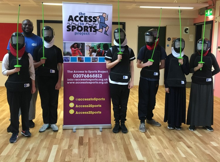Fencing lessons with Access to Sports