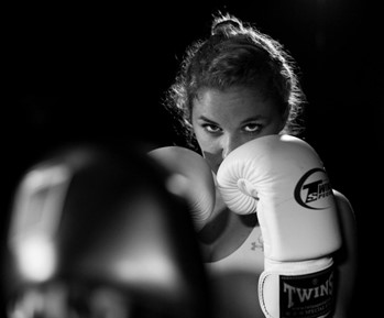 Girls Boxing with Access to Sports